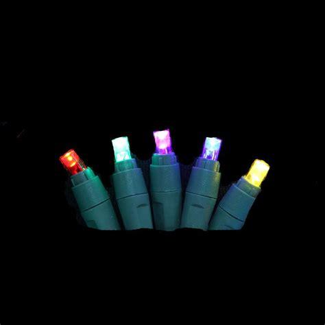 multi color led lights lightshow applights 24 light multi color icicle string