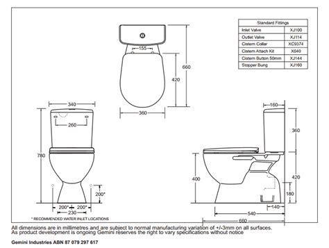 toilet dimensions marbletrend coupled toilet suite with seat Toilet Dimensions