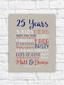 17 best images about 25th wedding anniversary on pinterest With 25th wedding anniversary gift ideas for husband