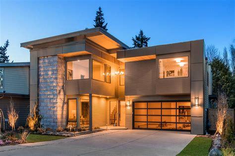 Narrow Lot Modern House Plan 23703JD Architectural
