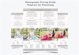 Photography Pricing Guide Template ~ Flyer Templates on Creative Market