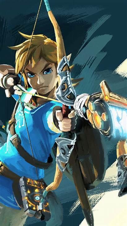 Zelda Legend Iphone Breath Wild Wallpapers Backgrounds