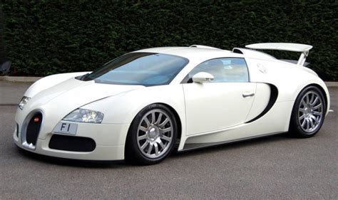 Who Makes Bugatti Veyron by Bugatti Veyron Complete With F1 Numberplate Makes Debut