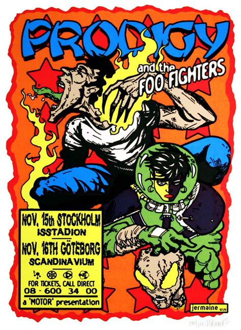 Original Foo Fighters Posters
