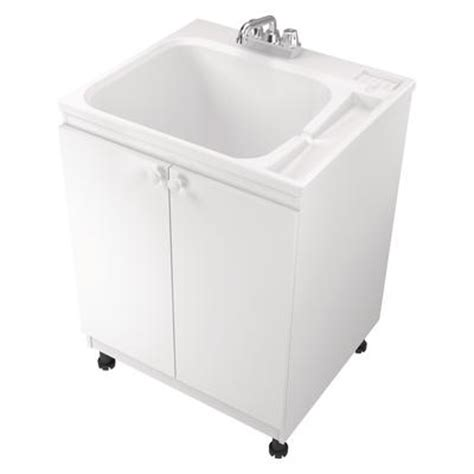 home depot laundry sink canada asb all in one laundry tub and cabinet home depot canada
