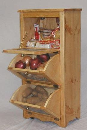 diy kitchen cabinets 33 best potato and storage bins images on 3397