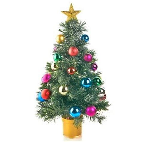 winter lane 32 quot fiber optic rotating tree table top decorated christmas tree new ebay