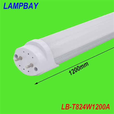 50 pack 24w led bulb t8 4ft replace to fluorescent