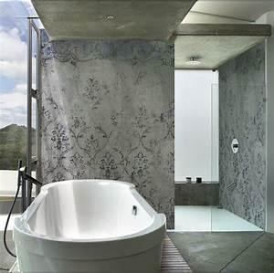 Tapete Für Badezimmer : die fugenlose dusche trendig und chic farbefreudeleben ~ Watch28wear.com Haus und Dekorationen