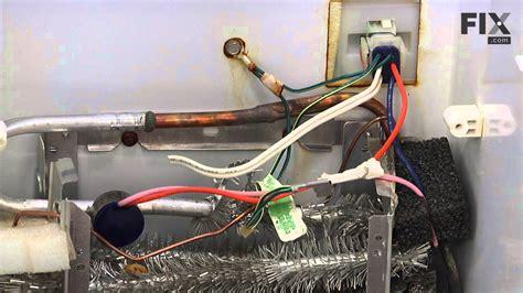 ge refrigerator repair   replace  temperature sensor youtube