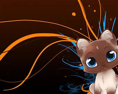 Cartoon Anime Cat Desktop Animated Kawaii Cats