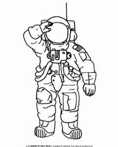 Space Suit Pages Printable Coloring Pages