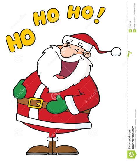 laughing santa claus stock photography image