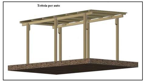 come fare una tettoia in legno una tettoia garage costruita in legno