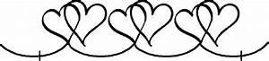 Double Heart Border Clip Art – 101 Clip Art