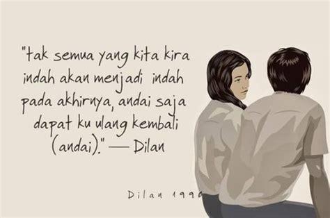 quotes cinta dilan  bisa bikin cewek jadi senyum senyum
