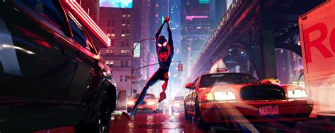 spider man   spider verse review  cartoon spidey stuns polygon