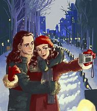 Loki and Darcy Fan Art