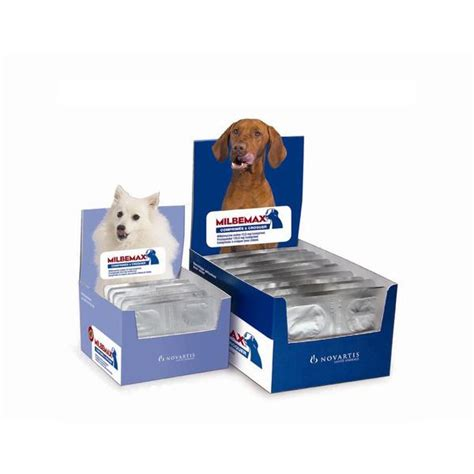 milbemax chewable deworming tablets  dogs absolute pets