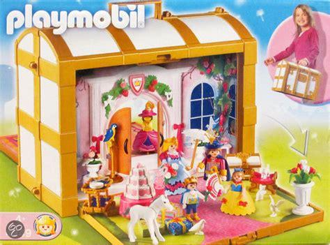playmobil huis rosa bol playmobil meeneem prinsessenkoffer 4249