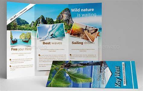 beautiful trifold travel brochure tempaltes psd