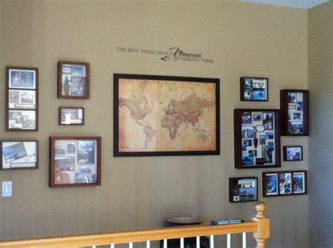 images  travel wall ideas  pinterest