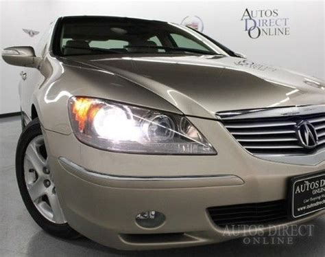 find   finance acura rl sh awd auto nav heated seats