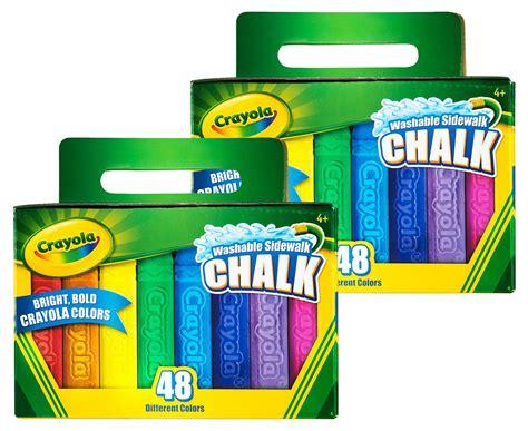 Crayola 48-piece Washable Sidewalk Chalk Twin Pack