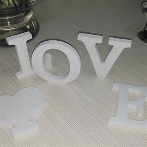 english letters new wooden wall stickers home decor 3d diy With 3d letters home decor