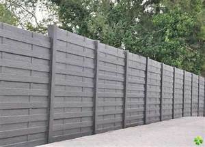 Cloture Beton Imitation Bois : cloture beton imitation pierre palissade pvc castorama ~ Dailycaller-alerts.com Idées de Décoration