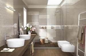 handmade collection gloss effect bathroom walls ragno With porte de douche coulissante avec meuble salle de bain luxe