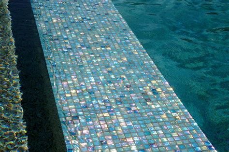 pin by luxury pools magazine on glass tile pools