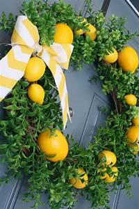 Summer, Lemon, Wreath