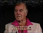George Montgomery--Rare TV Interview, Dinah Shore - YouTube