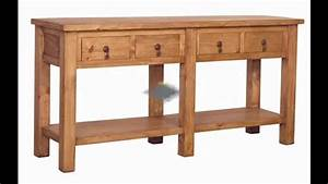 Rustic Console Table Design Ideas YouTube