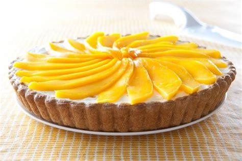 cuisine antillaise facile recette de tarte fromage frais et mangue facile et rapide