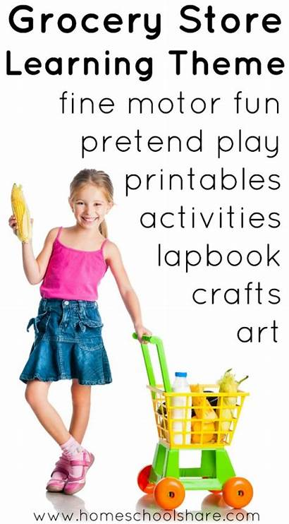 Preschool Grocery Theme Activities Kindergarten Play Pretend