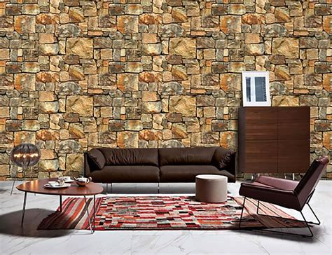 wallpaper available now in karachi 3d brick