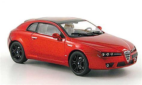 alfa romeo brera competizione red   diecast model