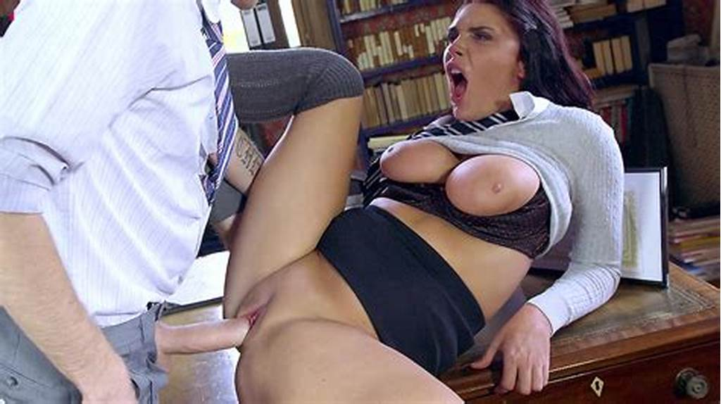 #Naughty #English #Student #Emma #Leigh #Fucked #In #Principal'S