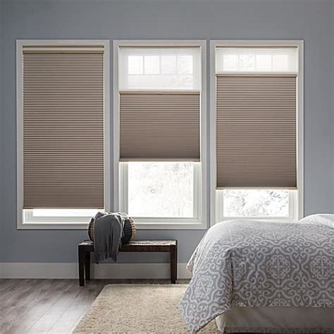 bed bath and beyond blinds real simple 174 cordless day cellular 72 inch length