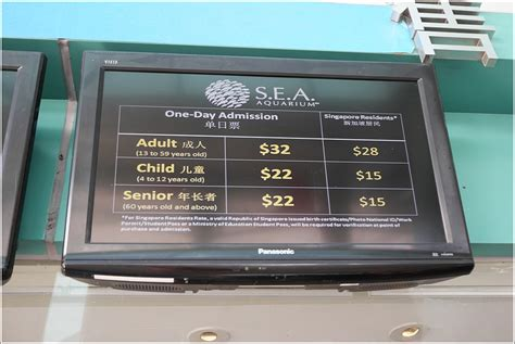 sea aquarium prices s e a aquarium sentosa singapore 171 home is where my is