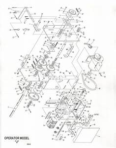 Power Master Overhead Door Operator Replacement Parts J Model