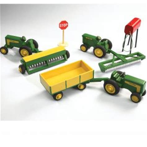 creating farm toys color painting reference scroll