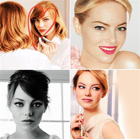Emma Stone + Revlon Ads