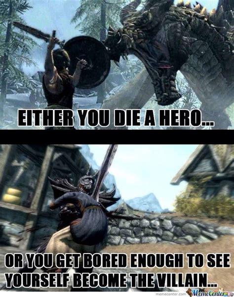 Dragonborn Meme - killing dragons is mean since i m dragonborn so let s kill people games pinterest