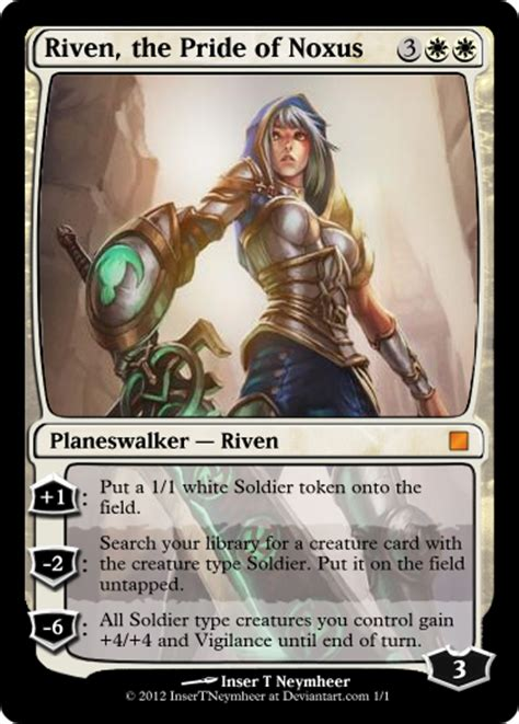 Planeswalker  Riven By Insertneymheer On Deviantart