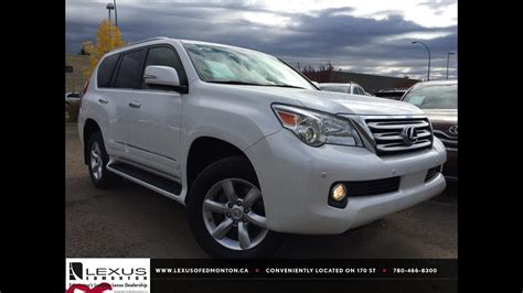 pre owned white  lexus gx  wd  depth review