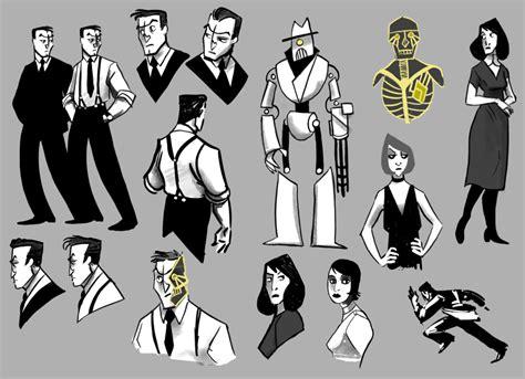 Character Designs By Mernolan On Deviantart