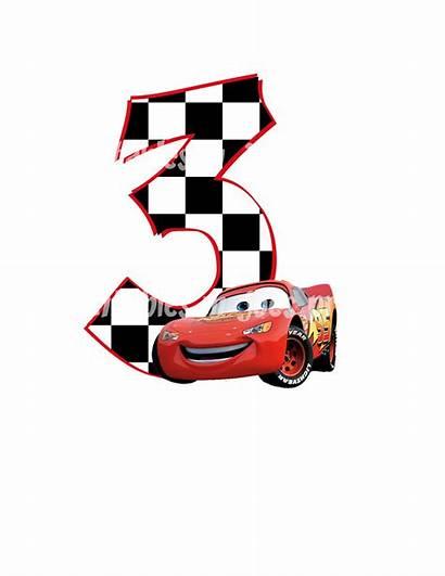 Cars Birthday Disney Printable Mcqueen Clipart Printables